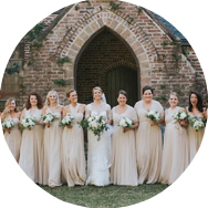 Champagne Bridesmaid Dresses Geelong
