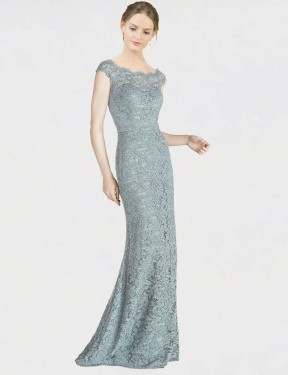 Shop Mermaid Fit and Flare Off the Shoulder Floor Length Long Blue Lace Kai Bridesmaid Dress Geelong