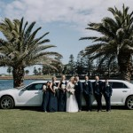 Wedding Shops Geelong | My bridesmaids looked beautiful, we went with dark navy and they where flattering for each girl. The dresses where great quality. Lacey was super helpful.
